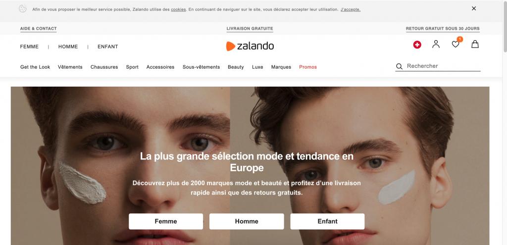 Usability test: Zalando.ch